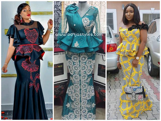 Ankara Long Skirt And Blouse Styles 2018 Latest Ankara Trends