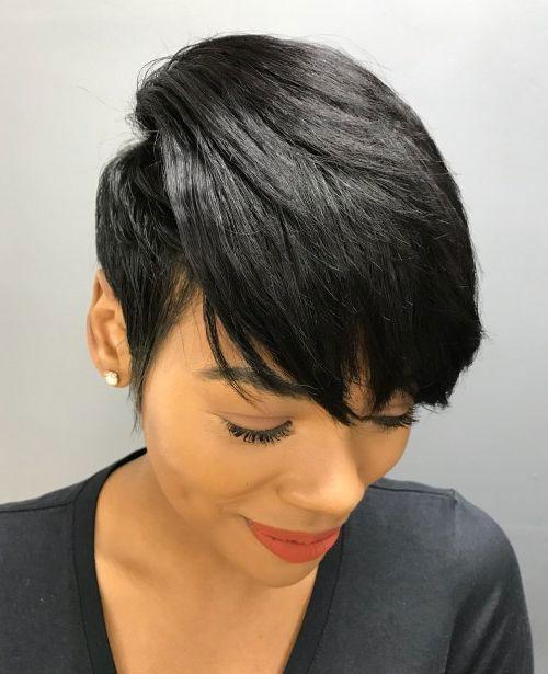 Best Short Hair Cuts On Black Women 2019