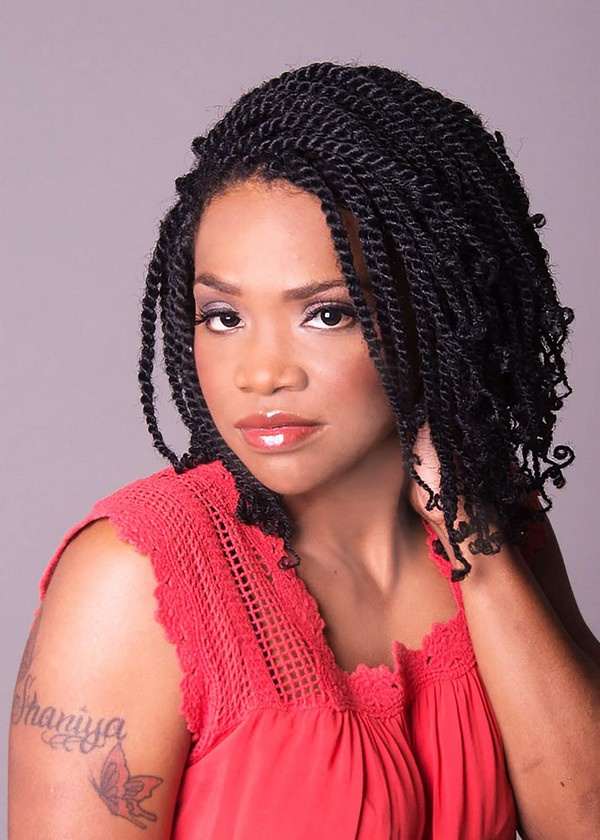 60 Pictures of Kinky Twist Braids Hairstyles in 2020 - Latest Kinky Twist Braids to Try this Year