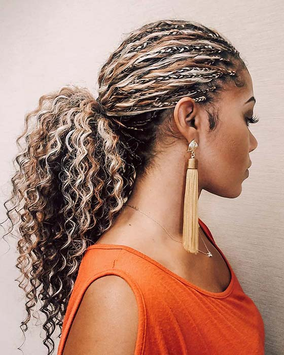 10 Beautiful Ways to Wear Tree Braids This Season