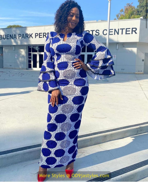 African Prints Styles - Latest Ankara Gown Styles 2020 latest ankara gown styles - African Prints Styles Latest Ankara Gown Styles 2020 11 620x760 - 40 Pictures – New and Stylish African Prints Styles: Latest Ankara Gown Styles 2020