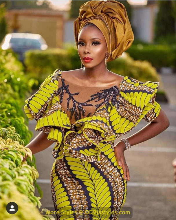 African Prints Styles - Latest Ankara Gown Styles 2020 latest ankara gown styles - African Prints Styles Latest Ankara Gown Styles 2020 13 608x760 - 40 Pictures – New and Stylish African Prints Styles: Latest Ankara Gown Styles 2020