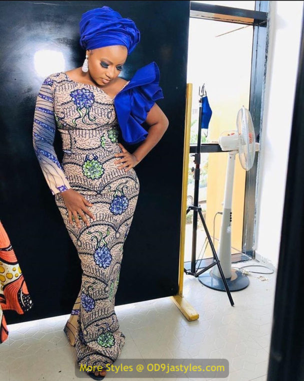 African Prints Styles - Latest Ankara Gown Styles 2020 latest ankara gown styles - African Prints Styles Latest Ankara Gown Styles 2020 14 608x760 - 40 Pictures – New and Stylish African Prints Styles: Latest Ankara Gown Styles 2020