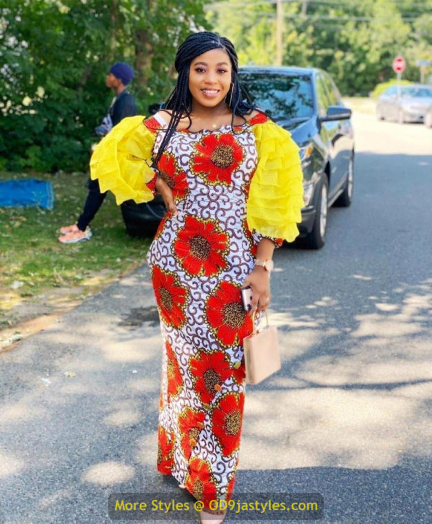 African Prints Styles - Latest Ankara Gown Styles 2020 latest ankara gown styles - African Prints Styles Latest Ankara Gown Styles 2020 15 627x760 - 40 Pictures – New and Stylish African Prints Styles: Latest Ankara Gown Styles 2020
