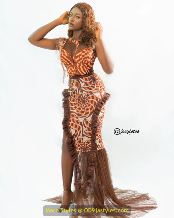 African Prints Styles - Latest Ankara Gown Styles 2020 latest ankara gown styles - African Prints Styles Latest Ankara Gown Styles 2020 16 608x760 - 40 Pictures – New and Stylish African Prints Styles: Latest Ankara Gown Styles 2020