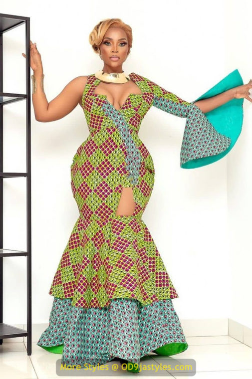 African Prints Styles - Latest Ankara Gown Styles 2020 latest ankara gown styles - African Prints Styles Latest Ankara Gown Styles 2020 18 505x760 - 40 Pictures – New and Stylish African Prints Styles: Latest Ankara Gown Styles 2020