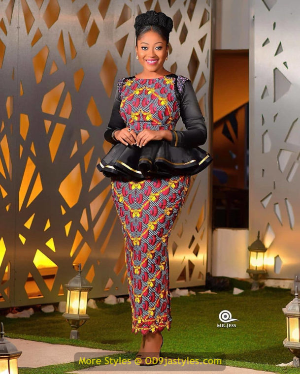 African Prints Styles - Latest Ankara Gown Styles 2020 latest ankara gown styles - African Prints Styles Latest Ankara Gown Styles 2020 19 609x760 - 40 Pictures – New and Stylish African Prints Styles: Latest Ankara Gown Styles 2020