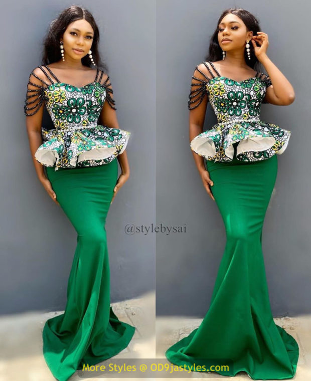 African Prints Styles - Latest Ankara Gown Styles 2020 latest ankara gown styles - African Prints Styles Latest Ankara Gown Styles 2020 5 620x760 - 40 Pictures – New and Stylish African Prints Styles: Latest Ankara Gown Styles 2020