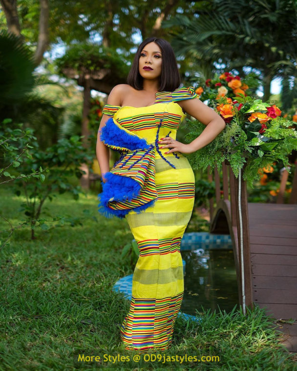 African Prints Styles - Latest Ankara Gown Styles 2020 latest ankara gown styles - African Prints Styles Latest Ankara Gown Styles 2020 6 608x760 - 40 Pictures – New and Stylish African Prints Styles: Latest Ankara Gown Styles 2020