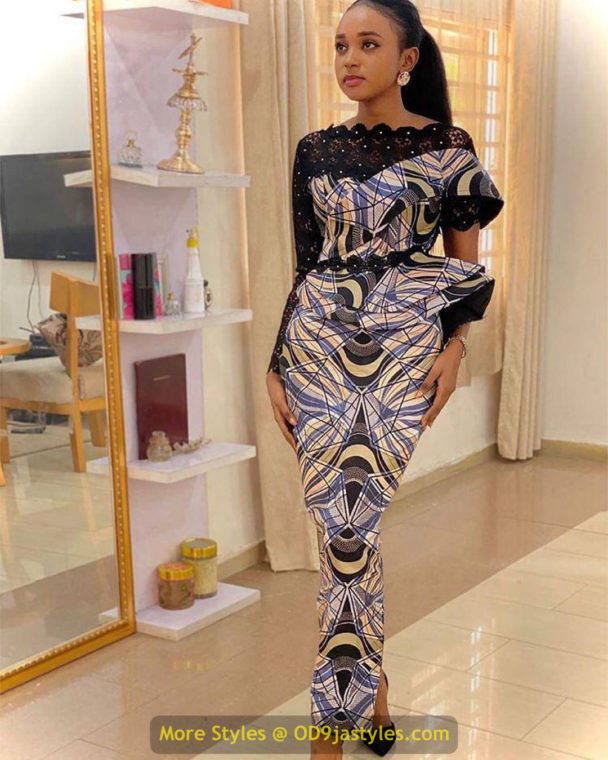 African Prints Styles - Latest Ankara Gown Styles 2020 latest ankara gown styles - African Prints Styles Latest Ankara Gown Styles 2020 7 608x760 - 40 Pictures – New and Stylish African Prints Styles: Latest Ankara Gown Styles 2020