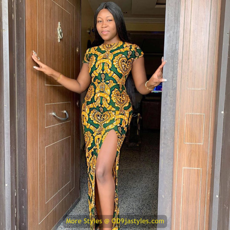 African Prints Styles - Latest Ankara Gown Styles 2020 latest ankara gown styles - African Prints Styles Latest Ankara Gown Styles 2020 8 760x760 - 40 Pictures – New and Stylish African Prints Styles: Latest Ankara Gown Styles 2020
