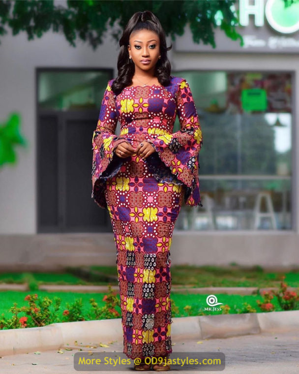 African Prints Styles - Latest Ankara Gown Styles 2020 latest ankara gown styles - African Prints Styles Latest Ankara Gown Styles 2020 9 608x760 - 40 Pictures – New and Stylish African Prints Styles: Latest Ankara Gown Styles 2020