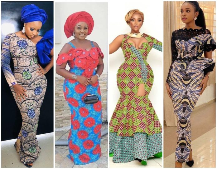 African Prints Styles: Latest Ankara Gown Styles 2020