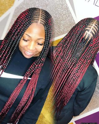 2021 Black Braided Hairstyles for ladies: Most Trendy Hairstyles | OD9jastyles