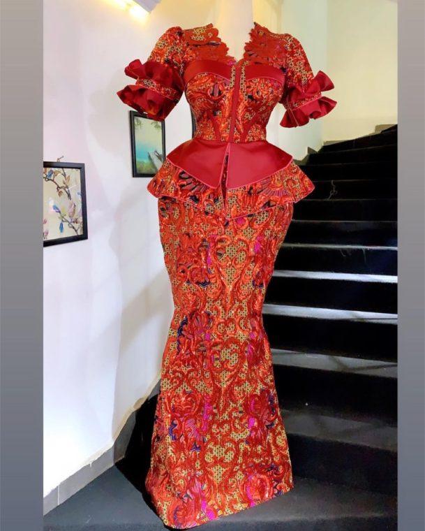 Ankara Skirt And Blouse Styles ankara skirt and blouse styles - Elegant and Classy Ankara Skirt And Blouse Styles for Ladies