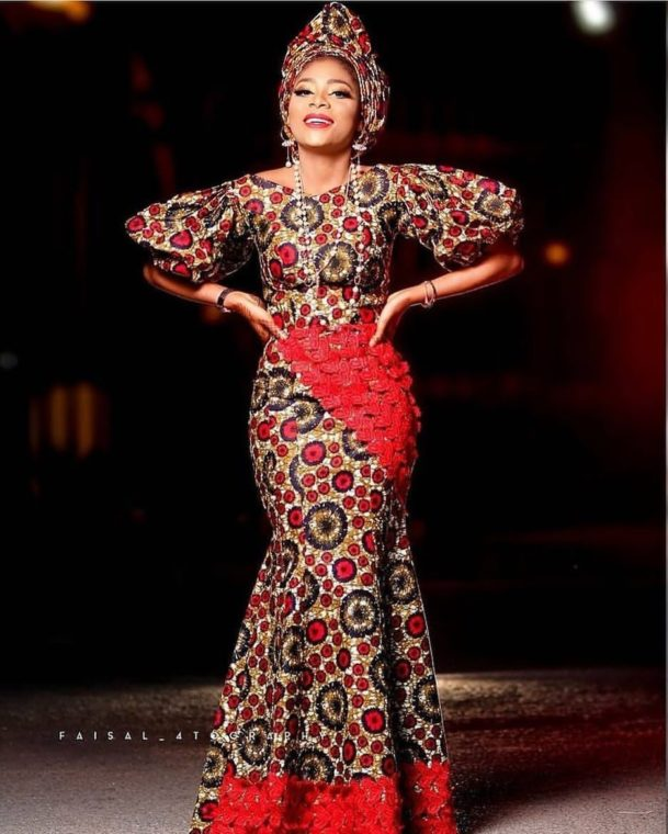 Long Ankara Gown Styles long ankara gown styles - 50 PHOTOS: Long Ankara Gown Styles – 2021 Ankara Long Gown Pictures