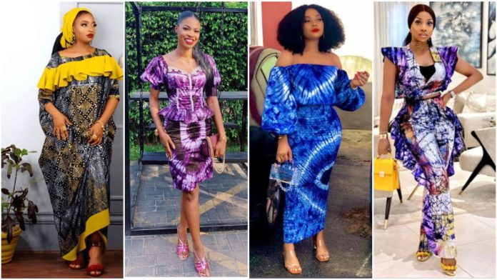 Amazing and Creative Adire Styles For Stylish African Women